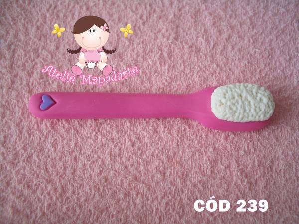 Foto 1 - Cód 239 Molde de escova de dente G