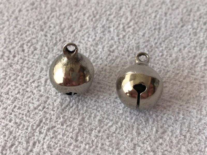 Foto 1 - Cód 2402 Guizo metal prata 10 un 1cm