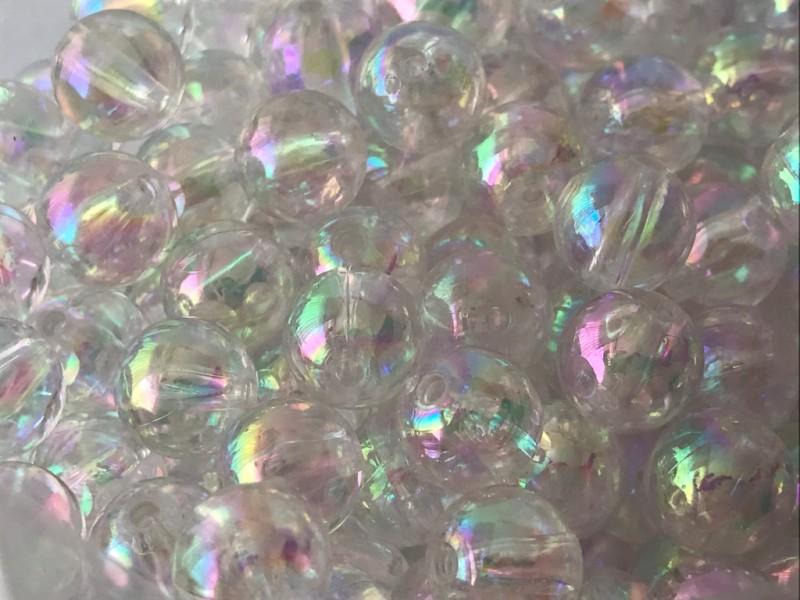Foto3 - Cód M2419 Bola cristal irisada tam.10 com 20 un
