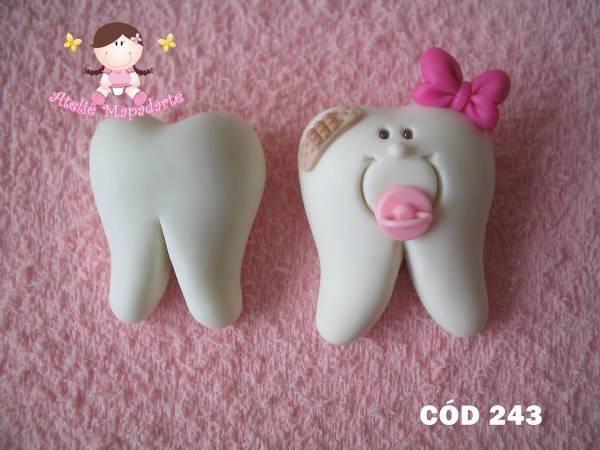 Foto 1 - Cód 243 Molde de dente M