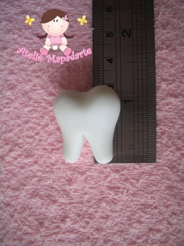 Foto2 - Cód 243 Molde de dente M