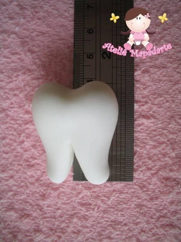 Foto2 - Cód 244 Molde de dente G