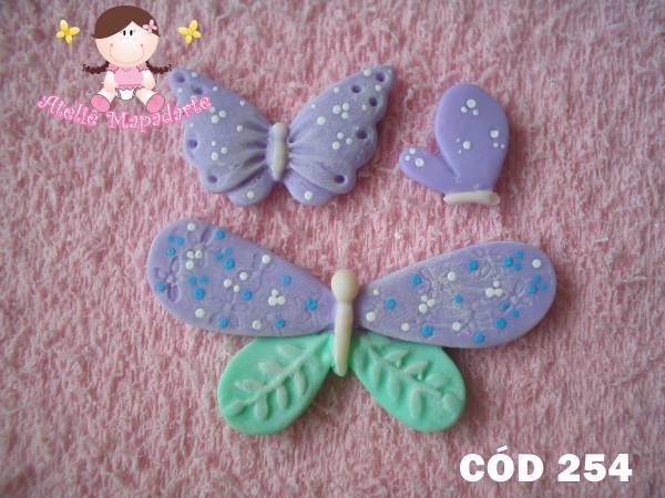 Foto 1 - Cód 254 Molde de borboletas