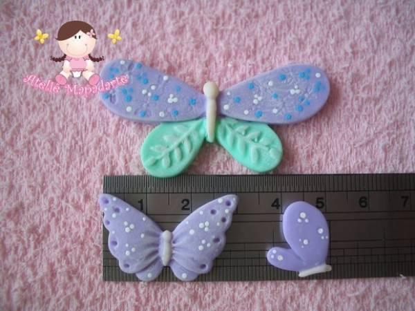 Foto2 - Cód 254 Molde de borboletas