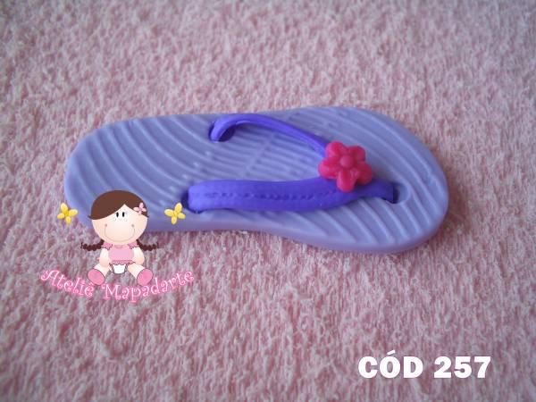 Foto 1 - Cód 257 Molde de sandália com correia