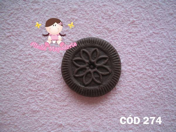 Foto 1 - Cód 274 Molde de biscoito