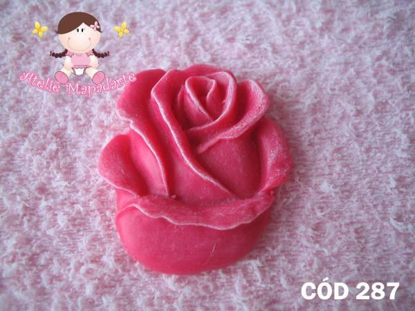 Foto 1 - Cód 287 Molde de botão de rosa