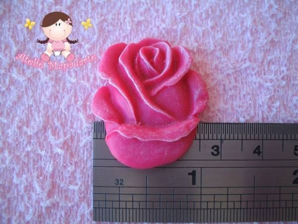 Foto2 - Cód 287 Molde de botão de rosa