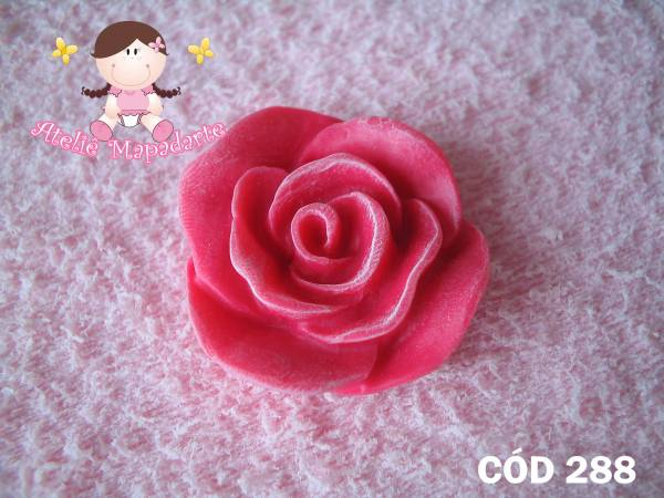 Foto 1 - Cód 288 Molde de rosa P
