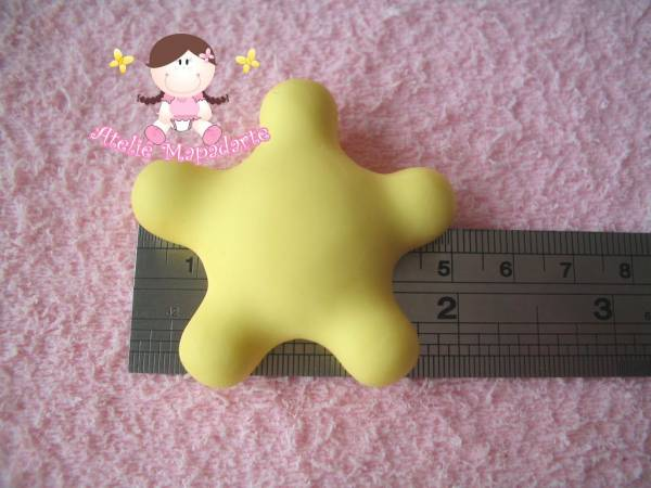 Foto2 - Cód 329 Molde estrela gorda G