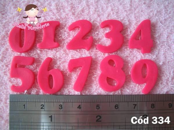 Foto 1 - Cód 334 Molde de Números