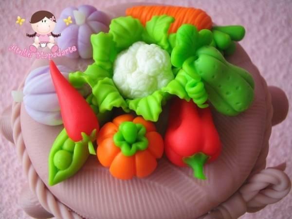 Foto 1 - Cód 351 Molde de mini legumes