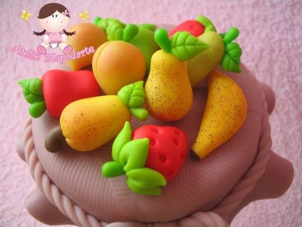 Foto 1 - Cód 352 molde de mini frutas