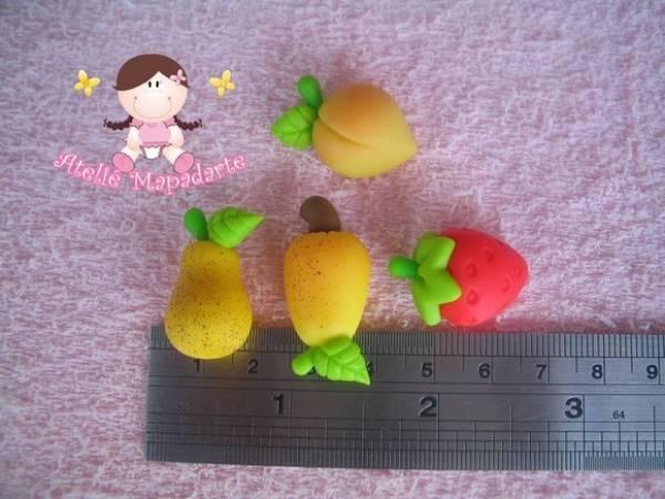 Foto2 - Cód 352 molde de mini frutas