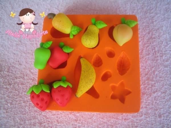 Foto3 - Cód 352 molde de mini frutas