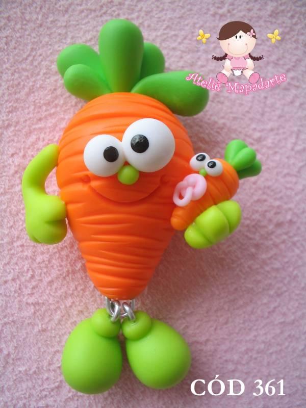 Foto 1 - Cód 361 Molde de cenoura zoiudinha