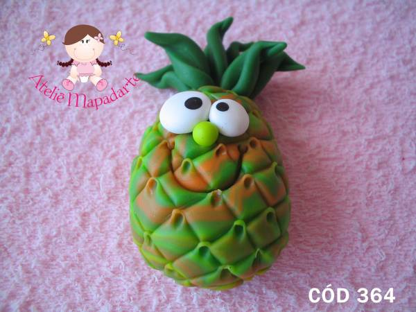 Foto 1 - Cód 364 Molde de abacaxi