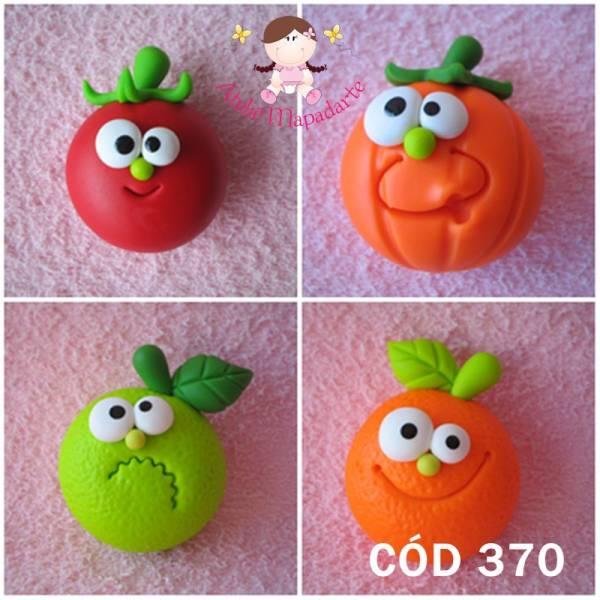 Foto 1 - Cód 370 Molde frutas diversas zoiudinhas