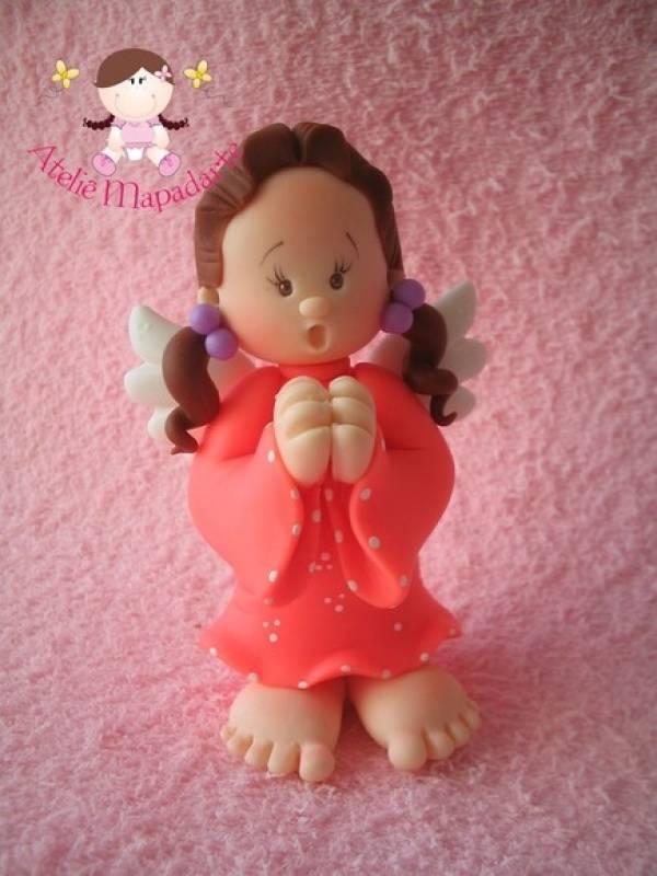 Foto3 - Cód 385 Molde de anjo