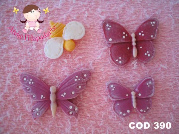 Foto 1 - Cód 390 Molde de borboletas