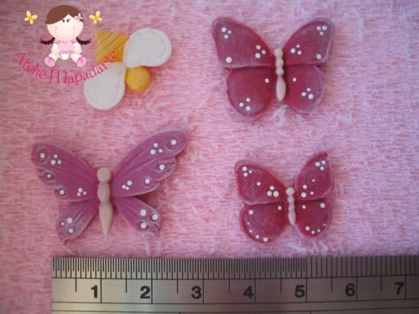 Foto2 - Cód 390 Molde de borboletas