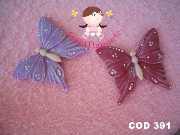Foto 1 - Cód 391 Molde de borboleta