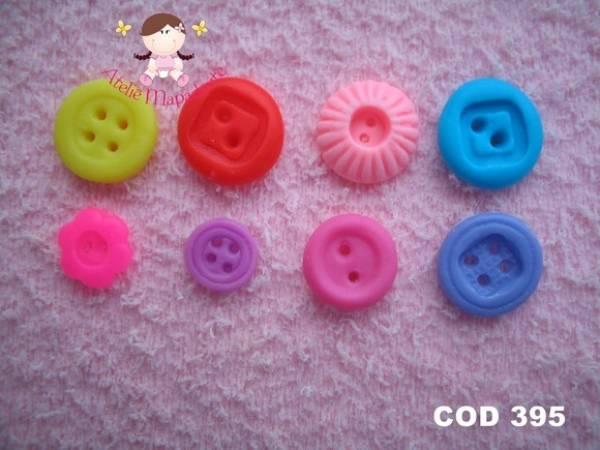 Foto 1 - Cód 395 Molde de botões P