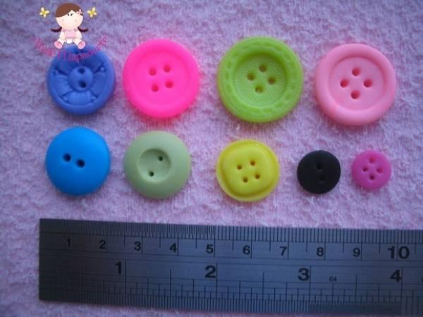 Foto2 - Cód 396 Moldes de botões