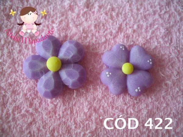 Foto 1 - Cód 422 Molde com 2 flores