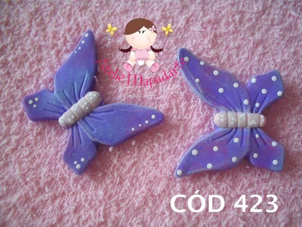 Foto 1 - Cód 423 Molde de borboleta