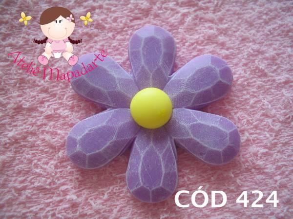 Foto 1 - Cód 424 Molde de flor