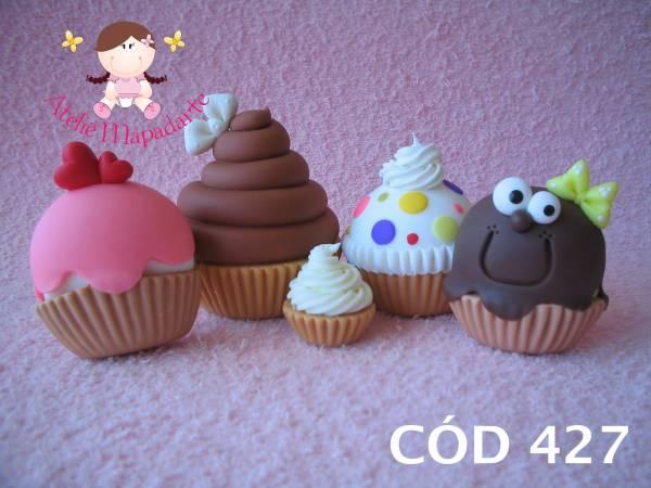 Foto 1 - Cód 427 Molde de cup cake (SOMENTE A BASE)