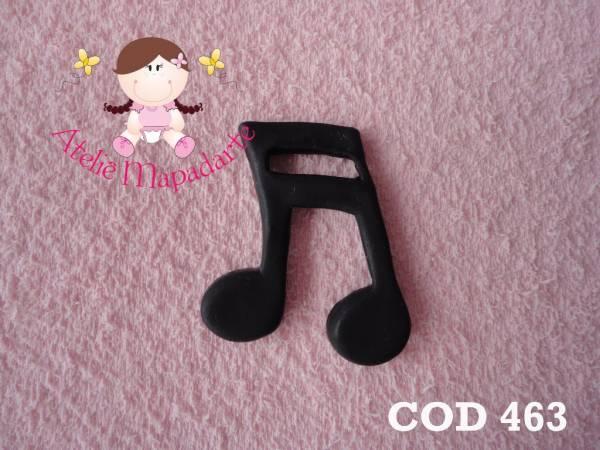 Foto 1 - Cód 463 Molde de nota musical G