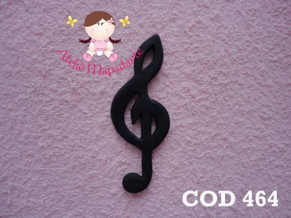 Foto 1 - Cód 464 Molde de nota musical G