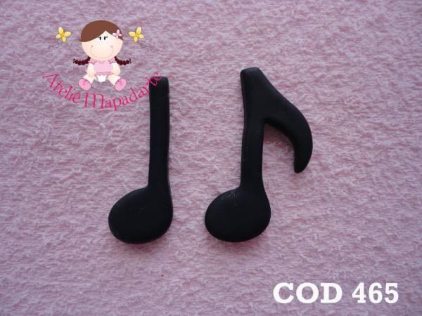 Foto 1 - Cód 465 Molde de nota musical G