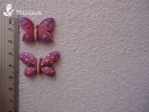 Foto2 - Cód 519 molde de borboleta com 2 pçs