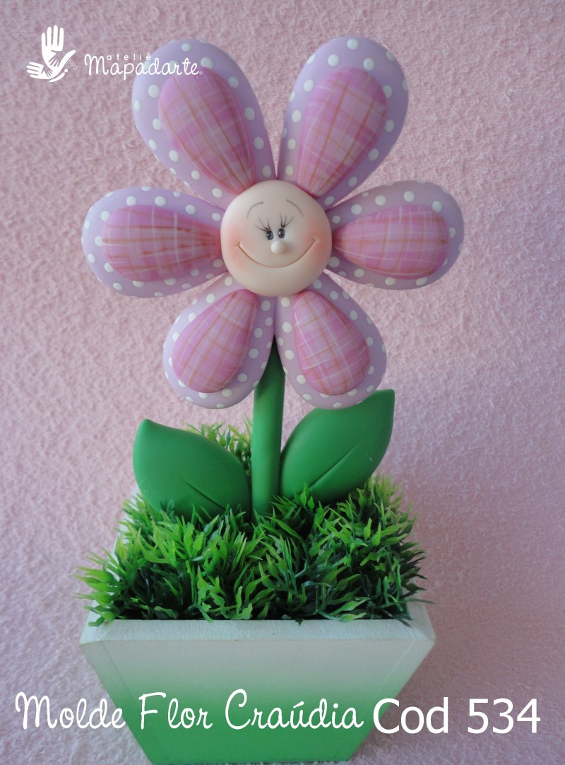 Foto 1 - Cód 534 Molde flor de Craúdia G