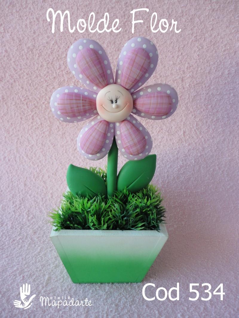 Foto2 - Cód 534 Molde flor de Craúdia G