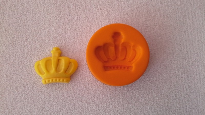 Foto 1 - Cód 552 molde de coroa