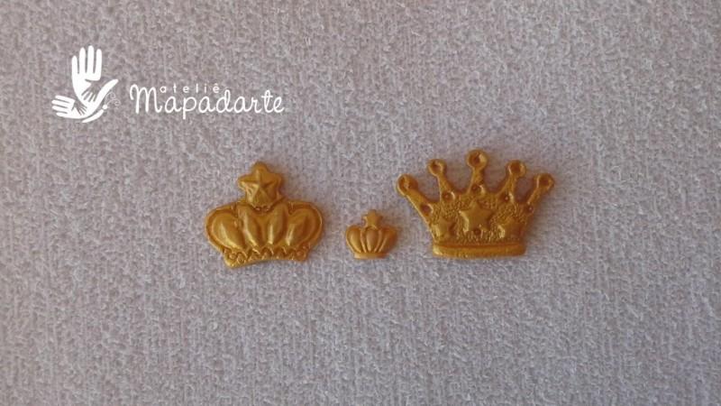 Foto 1 - Cód 558 Molde de coroa com 3 modelos P