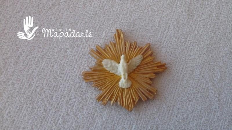 Foto 1 - Cód 564 molde de pomba do divino