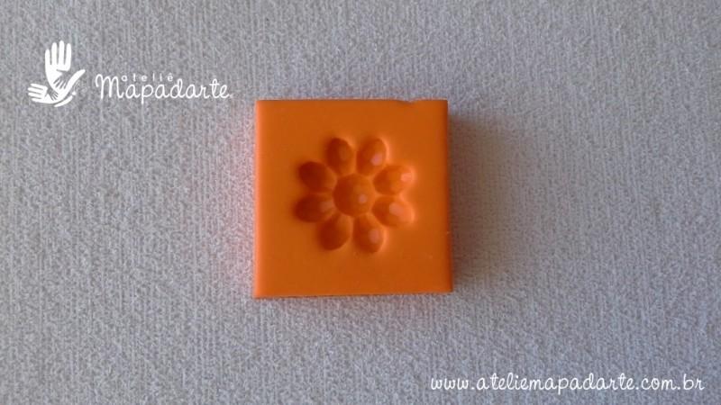 Foto2 - Cód 566 molde de flor cristal