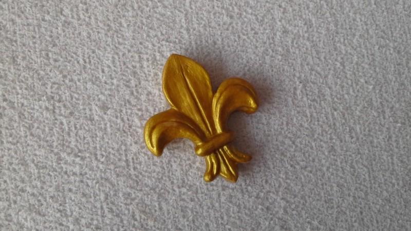 Foto 1 - Cód 601 Molde de flor de lis P