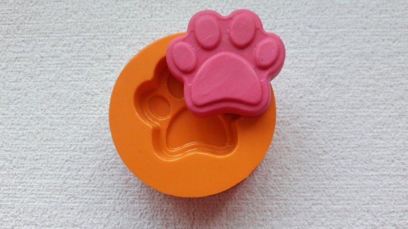 Foto 1 - Cód 721 molde pata de cachorro 2