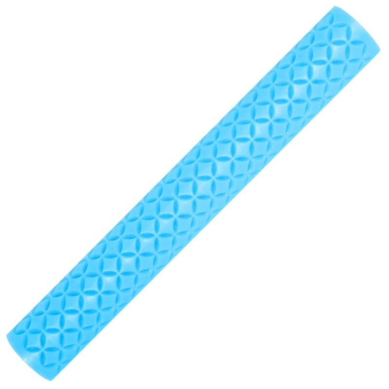 Foto 1 - Cód M065 Rolo textura azul 1 un (Blue Star)