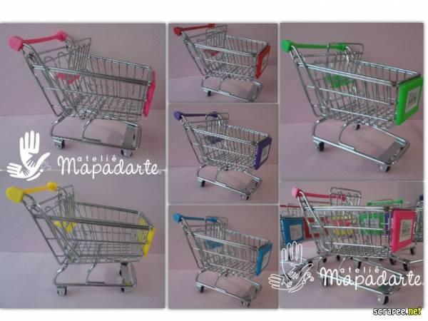 244b38d6e4 Foto 1 - Cód M1011 Carrinho de supermercado miniatura 1 Un ( SEM OPÇÃO DE  ESCOLHA