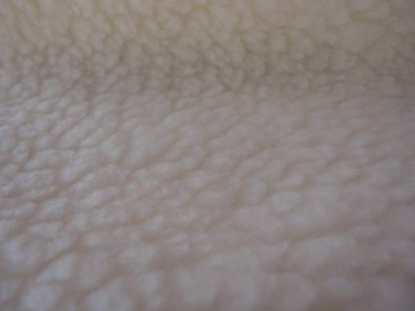 Foto 1 - Cód M1013 Carapinha cor natural macia( pêlo da ovelha) 20 cm X 1,60mt