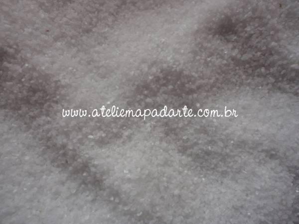 Foto 1 - Cód M1026 Areia de passarinho branco 100 gr