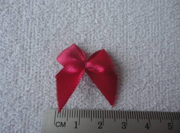 Foto2 - Cód M1050 Laço de cetim pink 20 un