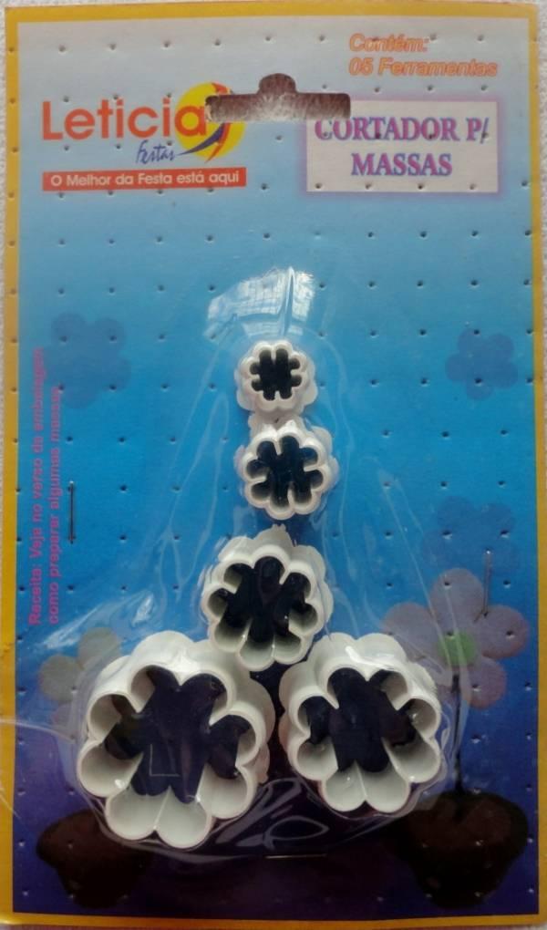 Foto 1 - Cód M109 Cortador de flores repicadas (Letícia Festas)